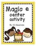 Magic E Center Activity