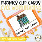 Magic E Clip Cards