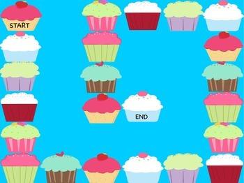 Magic E Cupcake Board Game