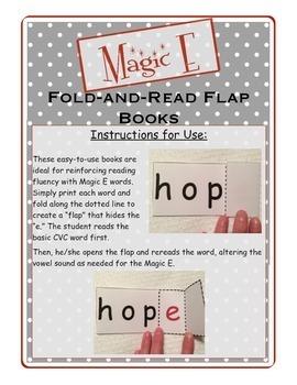 Magic E Fold-and-Read Flap Books