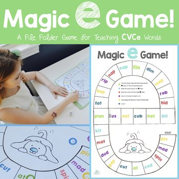 Magic E Game - CVCe words