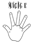 Magic E Hand Jolly Phonics