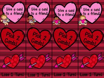 Valentine's Day CCVC & CVCC Game
