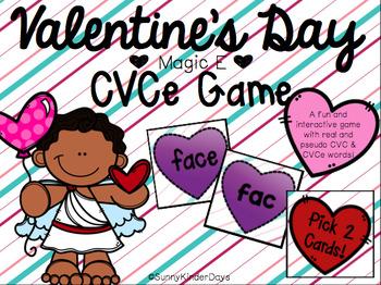 Magic E Hearts CVCe Game