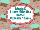 Magic E I Have Who Has Game. CCVCe and CVCe Words!