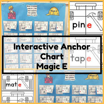 Magic E Interactive Anchor Chart