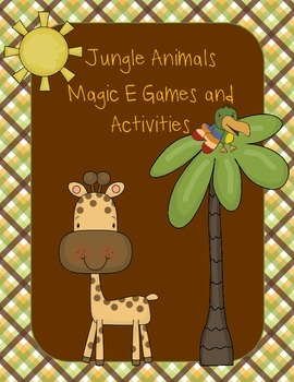 Magic E Jungle Animals Pack