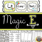 Magic E {Long I} Phonics Unit K-3