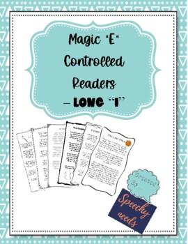 Magic 'E', Long 'I' CVCe Decodable Readers