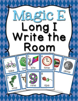 Magic E Long I Write the Room