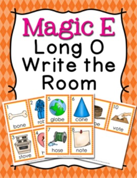 Magic E Long O Write the Room