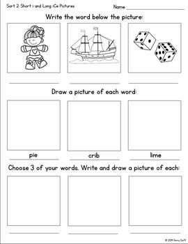 Magic E (Long Vowel Consonant E) Word Study Unit