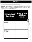 Magic E & Long Vowel Sound Worksheets
