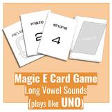 Magic E Phonics Card Game (Plays Like UNO)