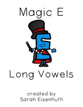 Magic E Long Vowel Worksheets