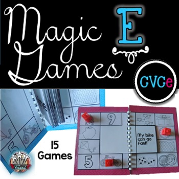 Magic E Long Vowels {CVCe Games}: Word Work, RTI