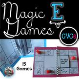 Magic E Long Vowels:  CVCe Activities for Phonics Instruction