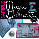 Magic E Long Vowels: Games