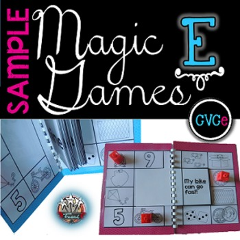 Magic E Long Vowels: Games