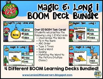 Magic E: Long i  BOOM Deck Bundle (Christmas Edition)