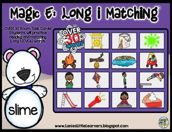 Magic E: Long i  BOOM Deck Matching (Winter)