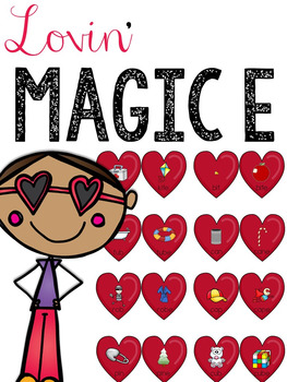 Magic E Lovin' (Matching CVC and CVCe Words)