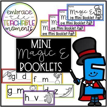 Magic E Mini Booklets