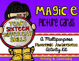Magic E Picture Cards {A Multipurpose Phonemic Awareness Activity Kit}
