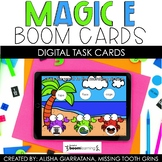 Magic E Picture Word Match Boom Cards™ | Distance Learning