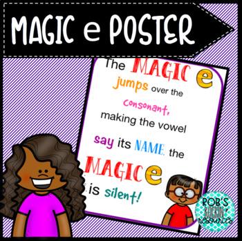 Magic E Poster