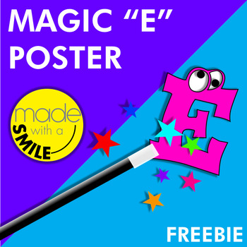Magic E Poster Freebie