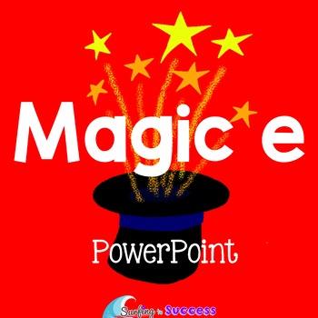 Magic E PowerPoint Long Vowel CVCe Words
