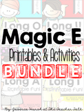 Magic E Printables & Activities Bundle!