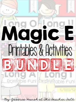Magic E Printables & Activities Bundle!