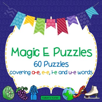 Magic E Puzzles
