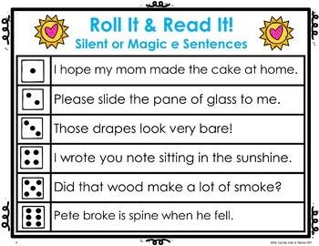 Silent or Magic  ē:  Read It! & Roll It! Games
