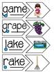 Magic E Read and Sort Puzzles