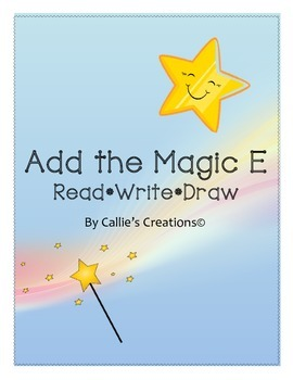 Magic E *Read*Write*Draw* PACKAGE