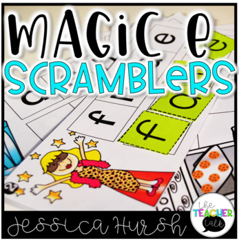 Magic E Scramblers