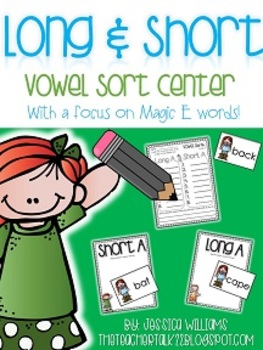 Magic E & Short Vowel Sorts