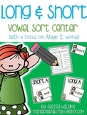 Magic E & Short Vowel Sorts