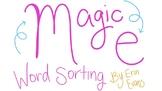 Magic E/ Short and Long Vowel Sounds Activity