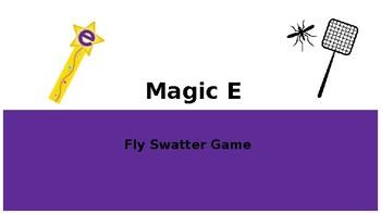 Magic E/Silent E Fly Swatter Game