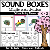 Magic E Sound Boxes with Practice Pages