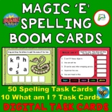 Magic E Spelling Boom Distance Learning Digital Task Cards
