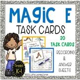 Magic E  Task Cards ~ Partial Words ~ Center Activity