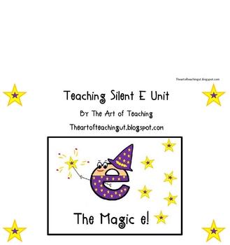 Magic E-Teaching Silent E Words