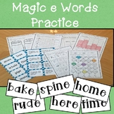 Magic E (VCVE) Words Practice Unit