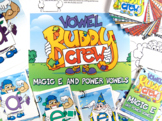 Magic E Vowel Buddy Combo Pack (Cards, Posters, Practice Mats)