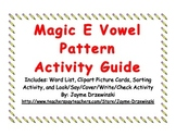 Magic E Vowel Pattern Activity Pack